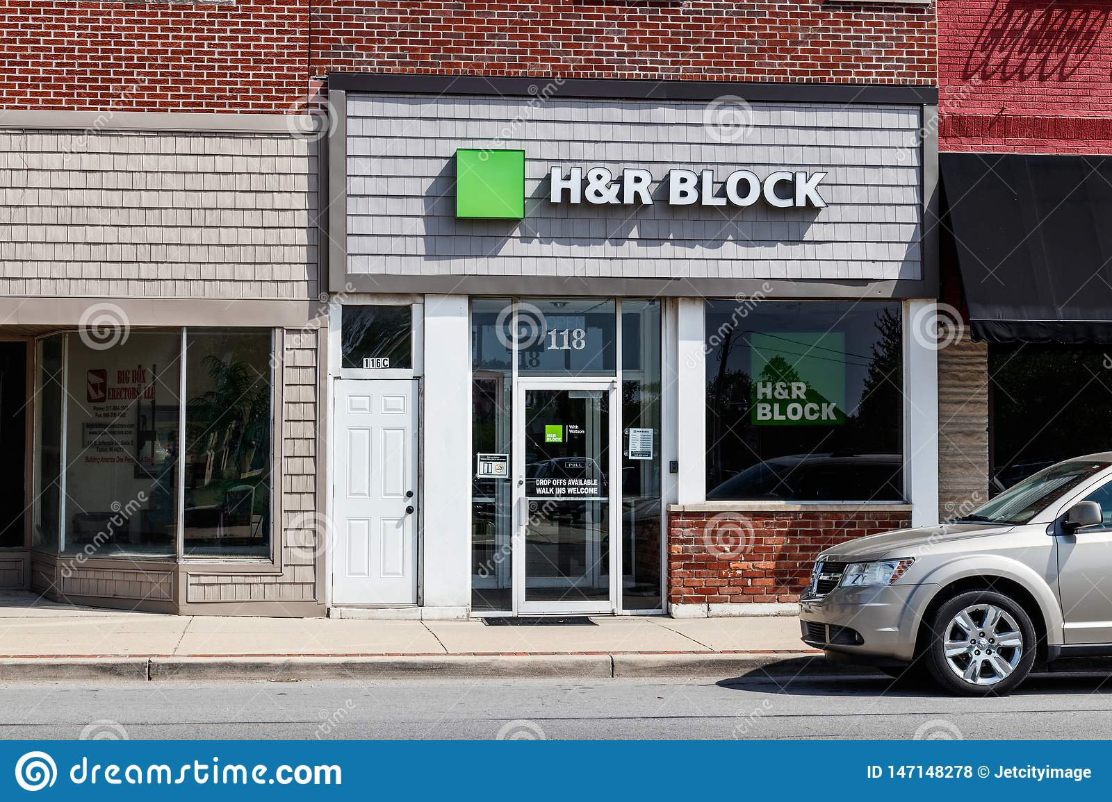 H&R Block Retail Tax Preparation Location. Block Operates 12,000 Locations III