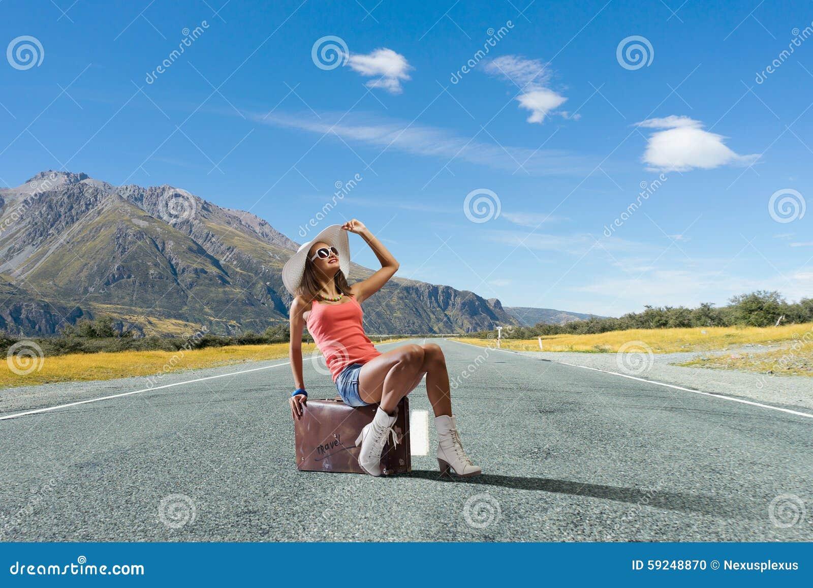 Tirón que camina viajar