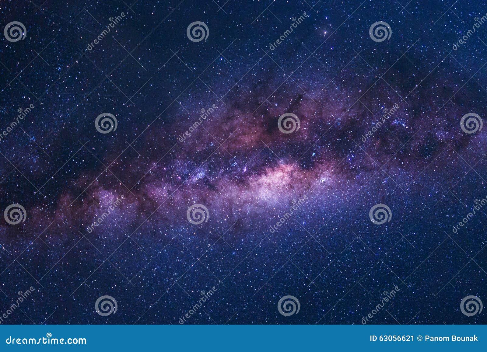 Tir coloré de l espace de galaxie de manière laiteuse avec des étoiles une nuit SK