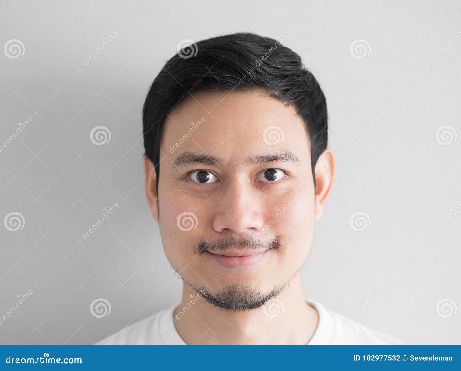 Tir principal d homme heureux de visage