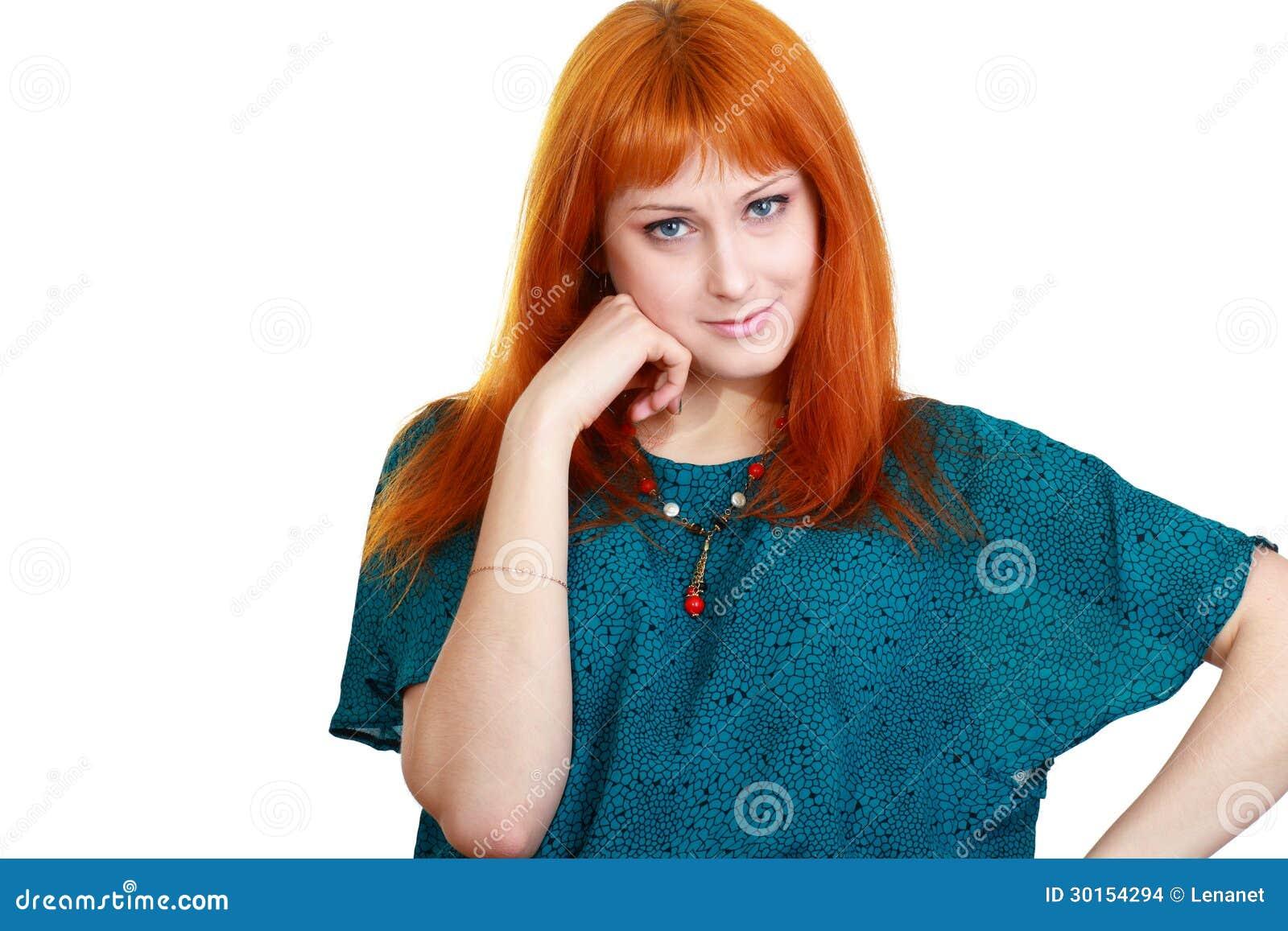 Femme faisant le visage