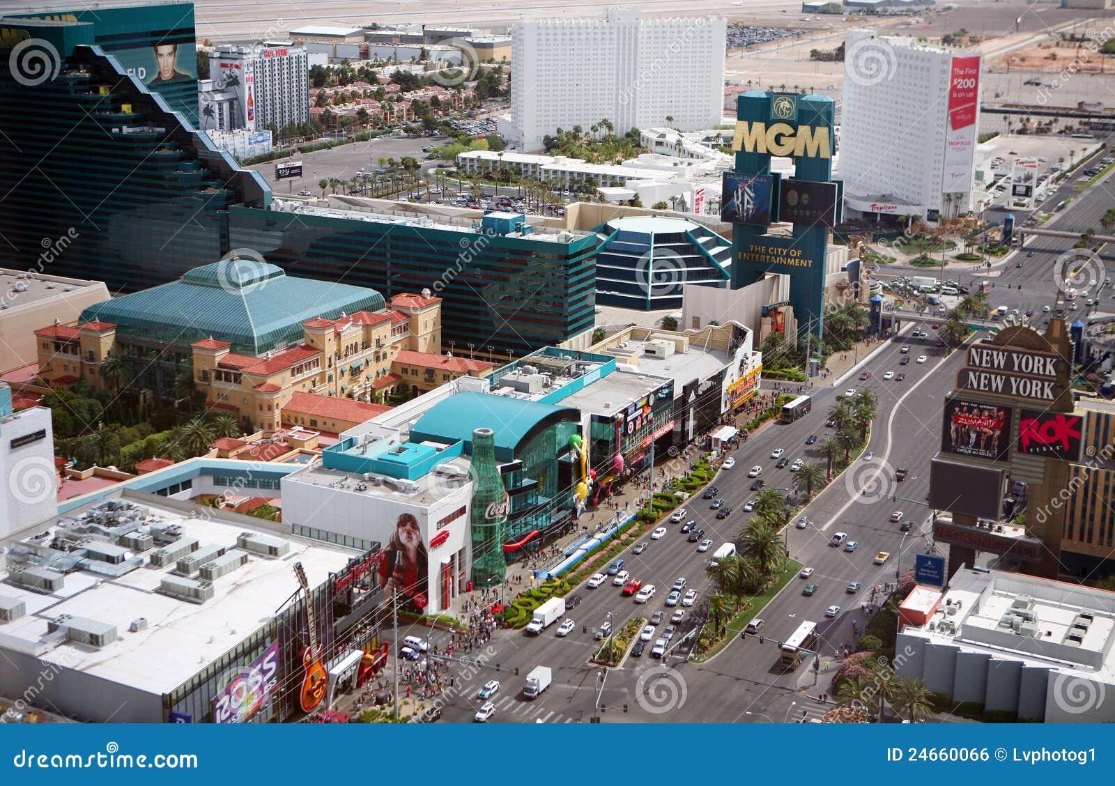 Tira de Las Vegas en el d3ia