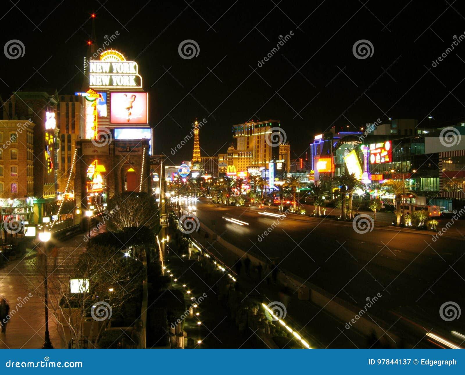 Tira de Las Vegas, Las Vegas, Nevada, los E.E.U.U.