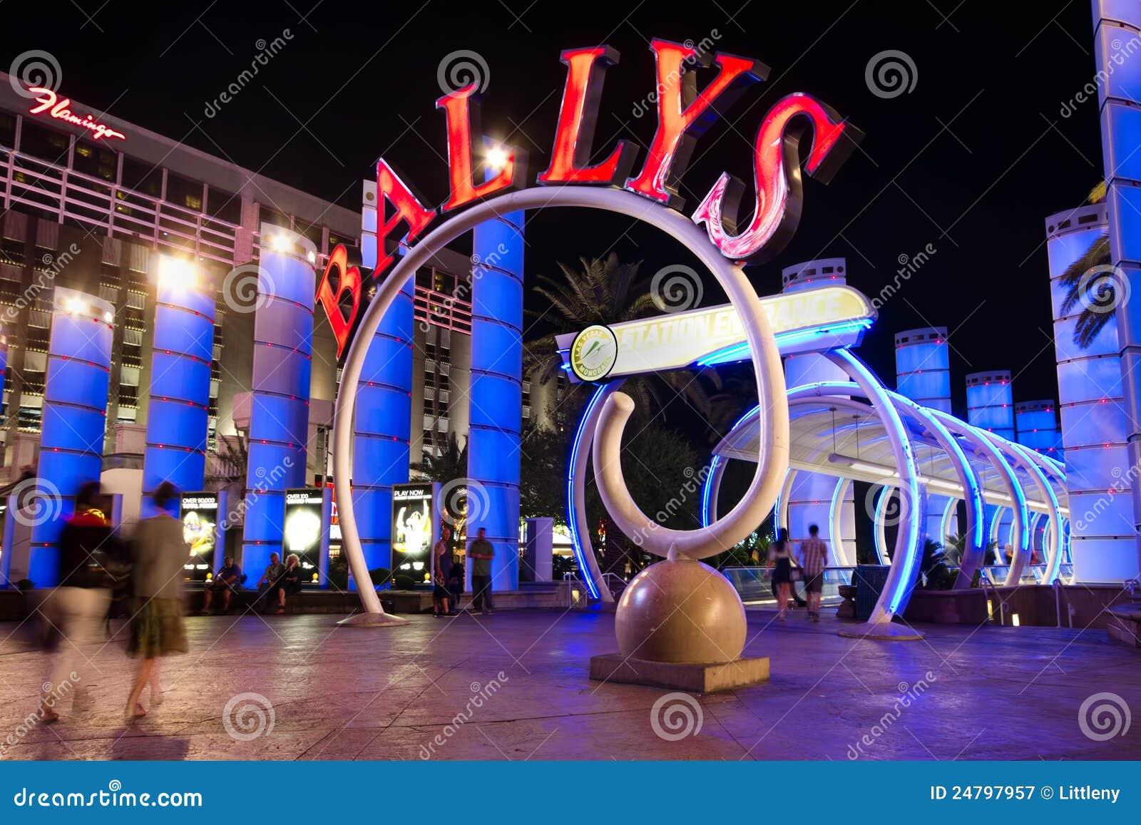 Tira de Vegas en la noche