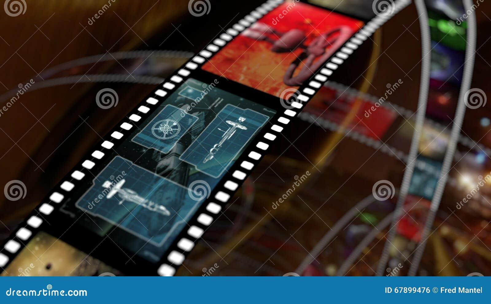 A tira do filme com ficção científica baseou conceitos