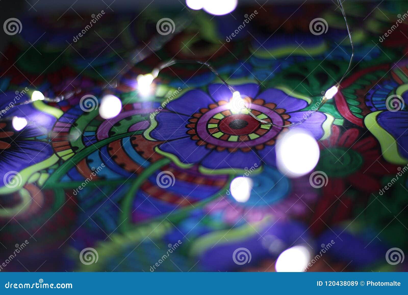 Tiraggio astratto con le luci 3
