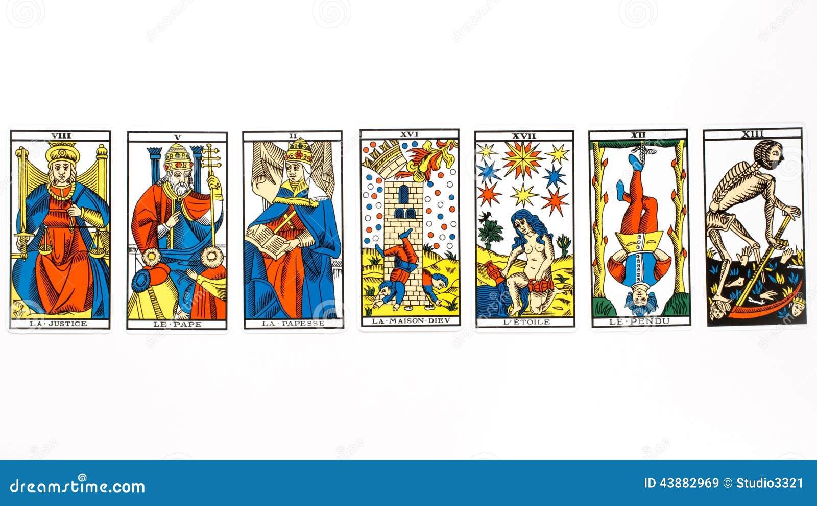 Tiraggio della carta di tarocchi
