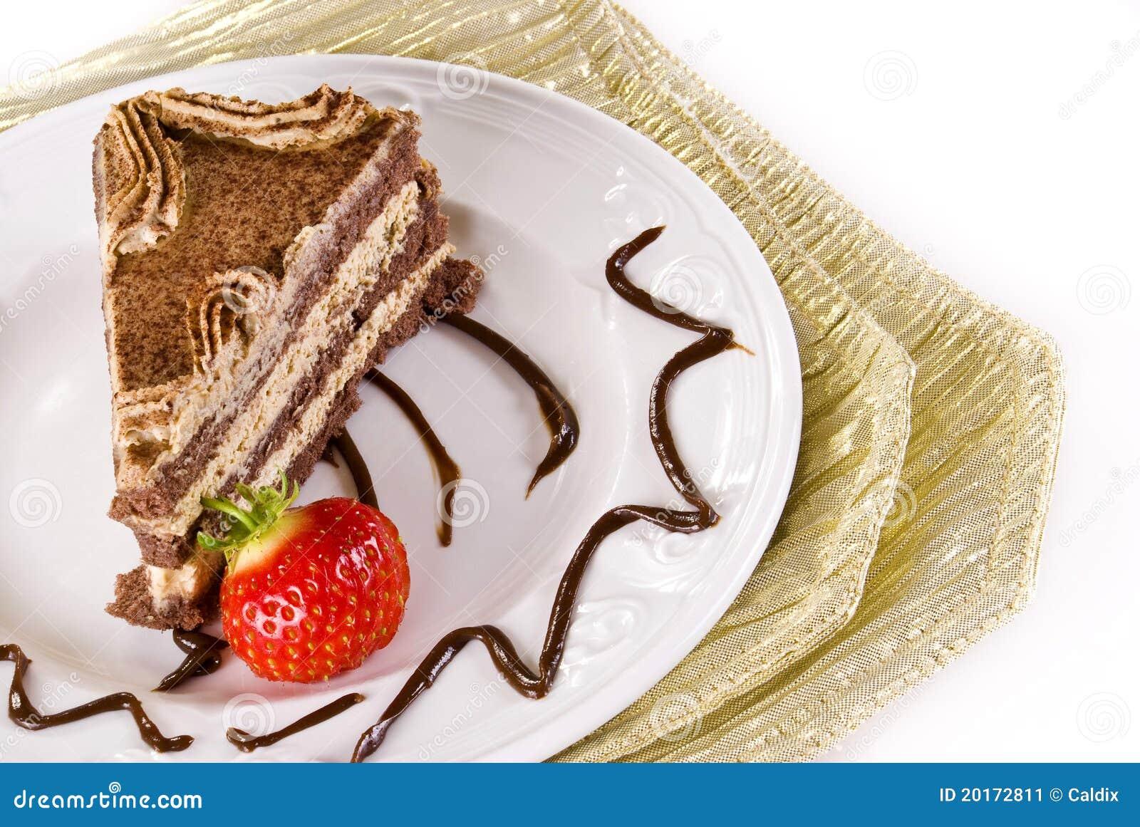 Tiramisu клубники торта