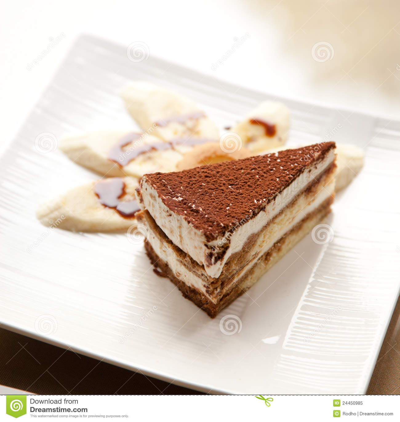 Tiramisu Image: Tiramisu Stock Image. Image Of Food, Calories, Beige