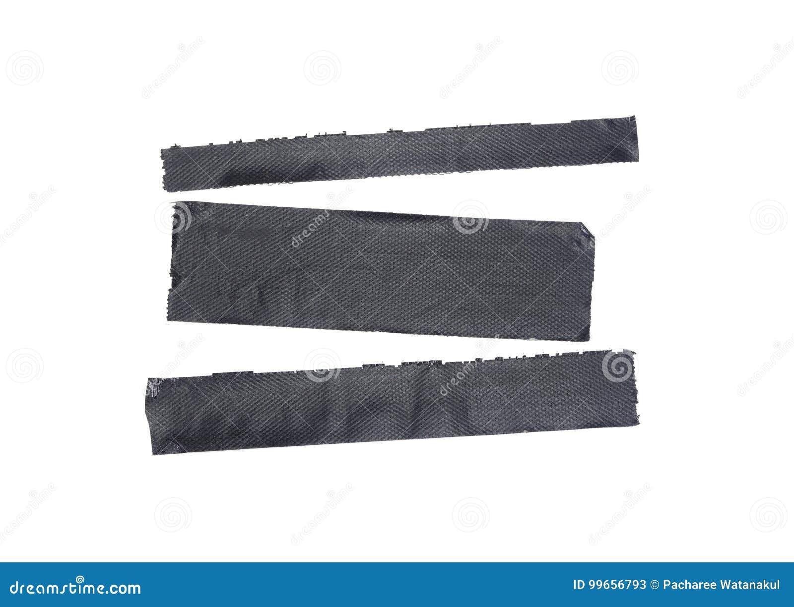 Tiras rasgadas fita da fita adesiva ou do pato de elementos isolados