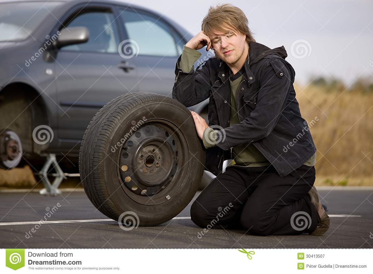 how to change a car tyre pdf