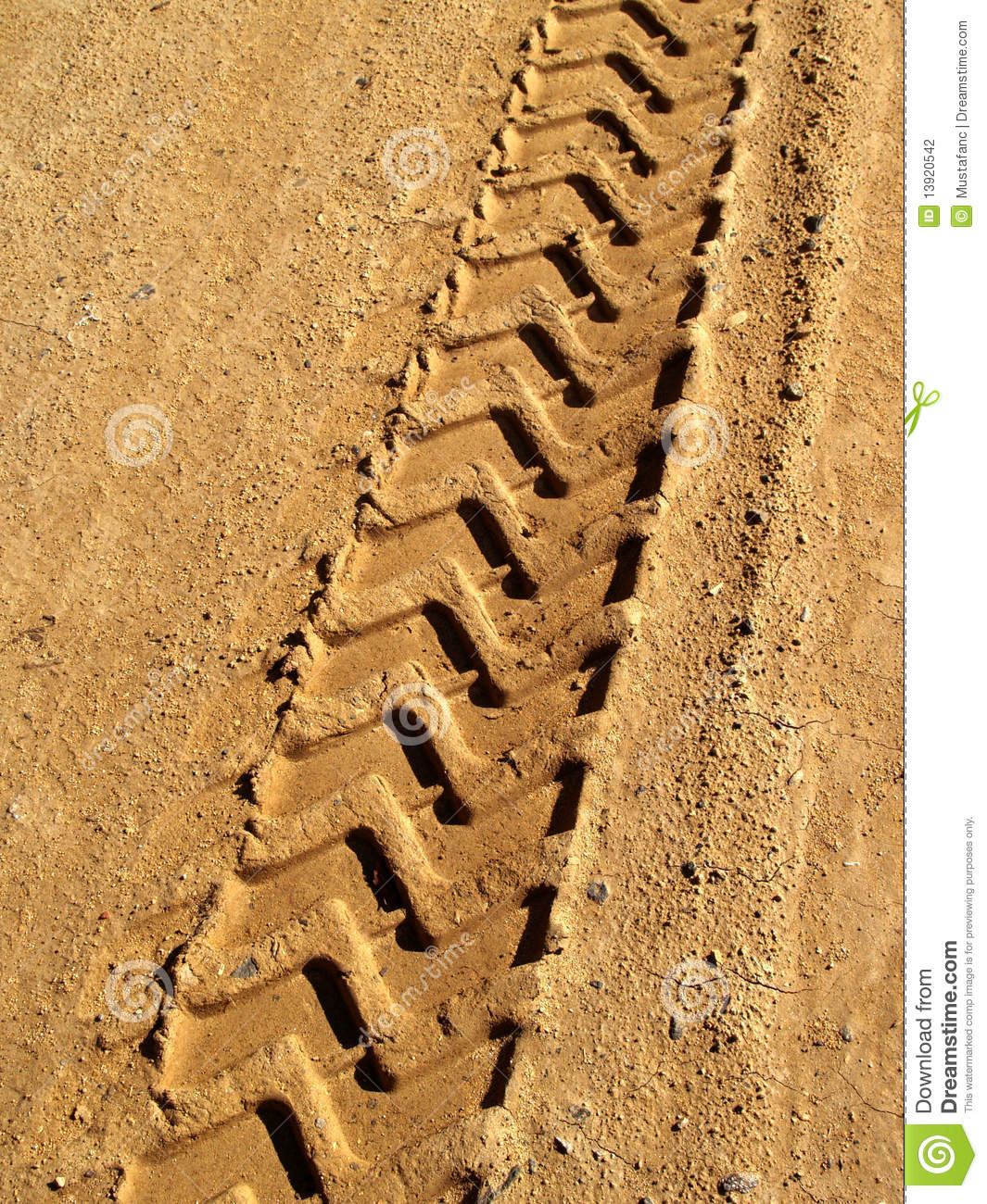 tire print stock photo image  vertical flaking road