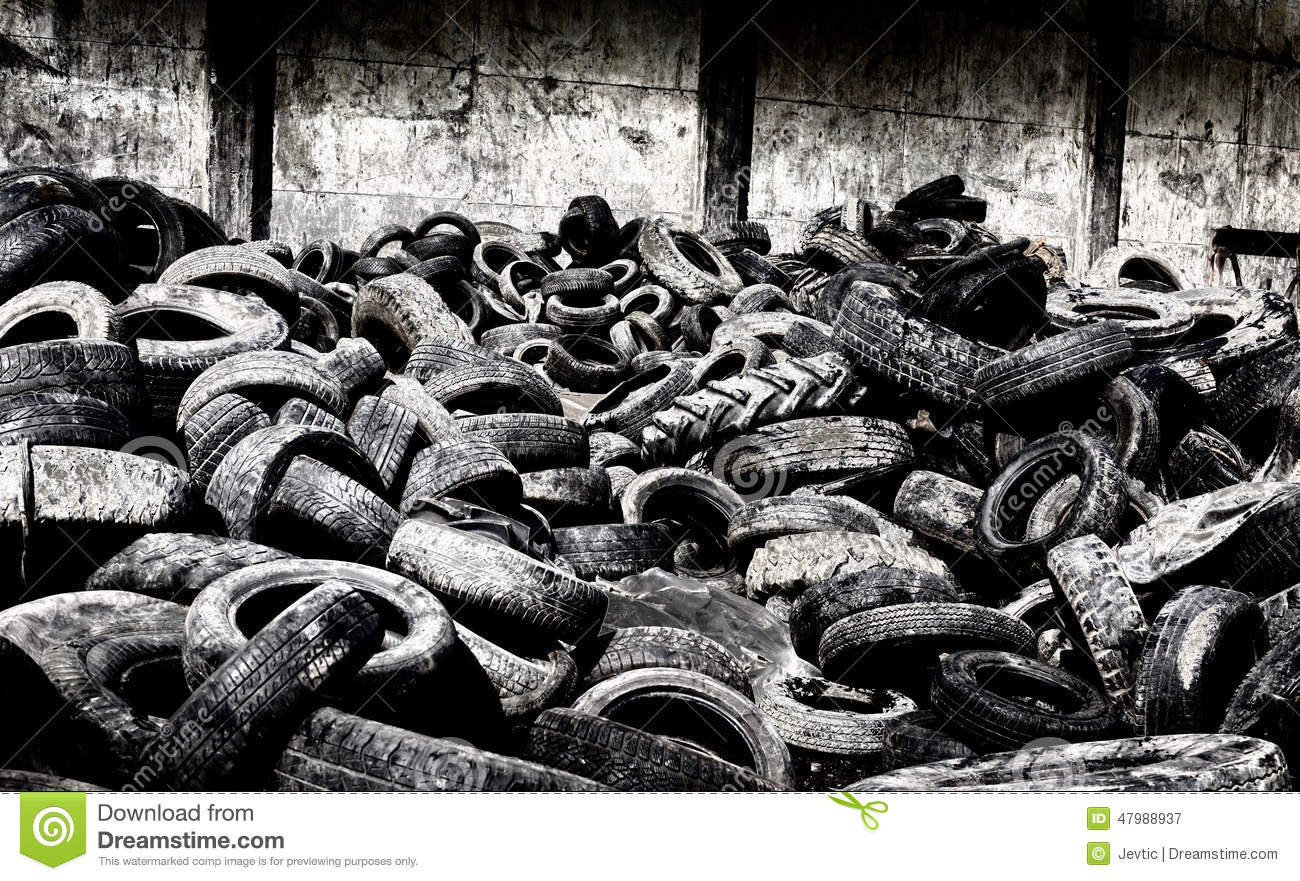 tire recycling industry Photo about close up of old used tires and shredded tire pile image of dump, playground, damaged - 39569661.