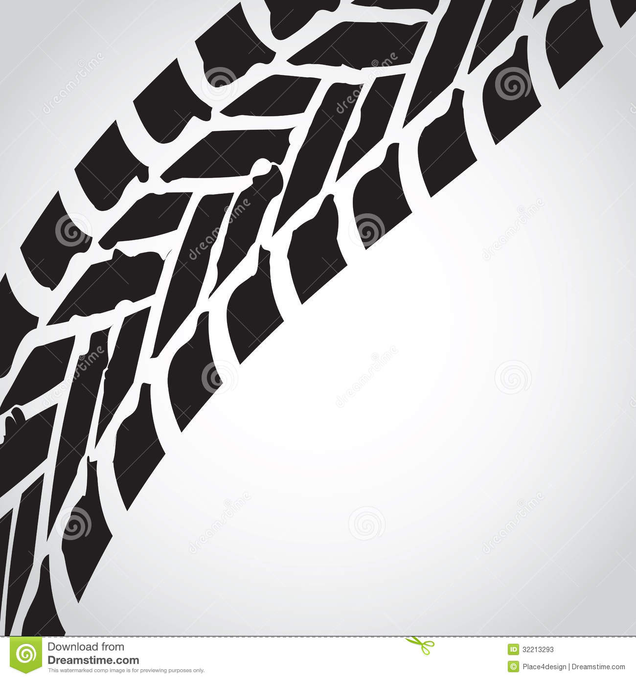 Dirt Street Stock >> Tire track background stock vector. Image of bicycle - 32213293