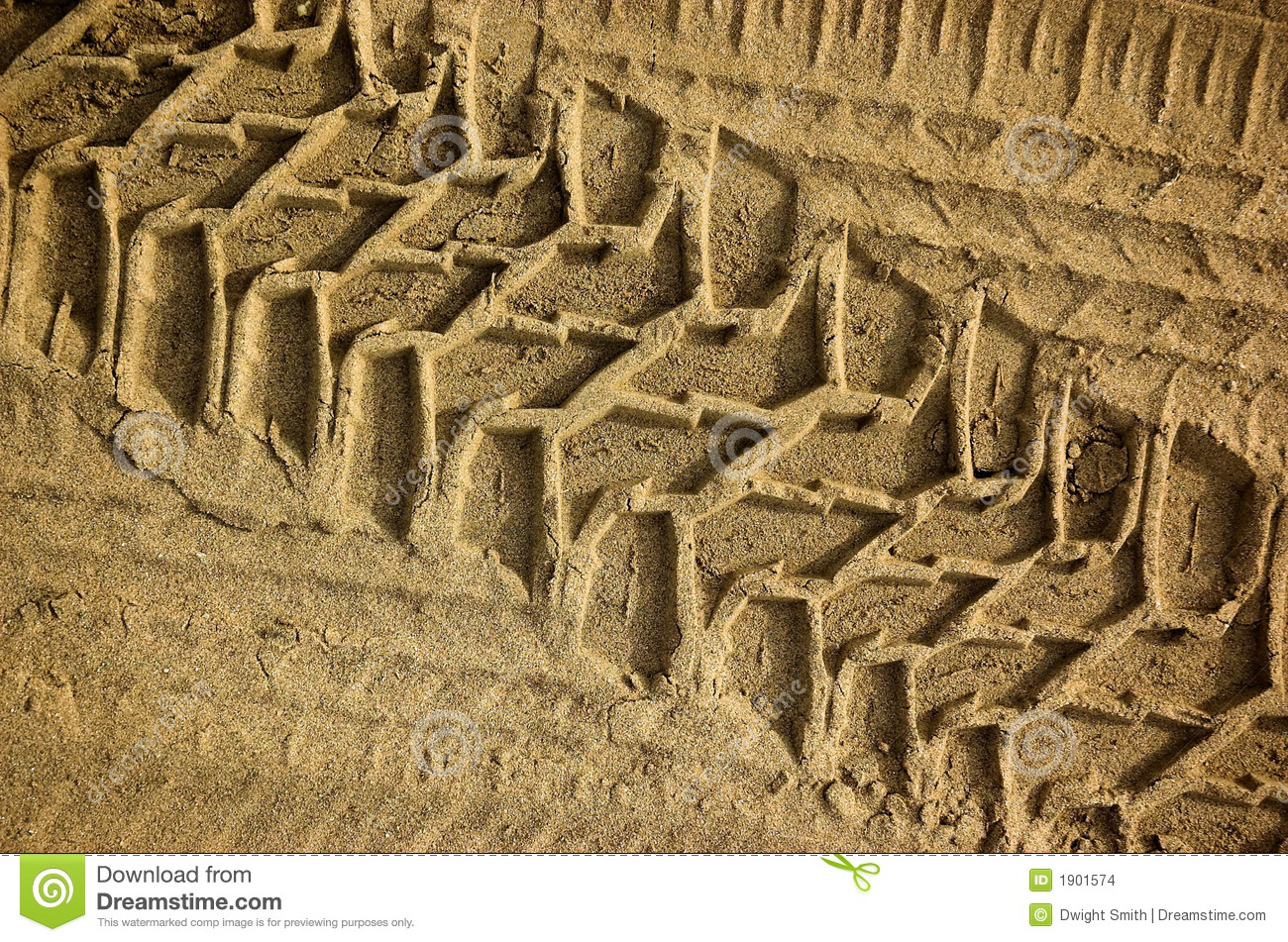 Tire Tracks stock photo. Image of imprints, dirty, dunes - 1901574