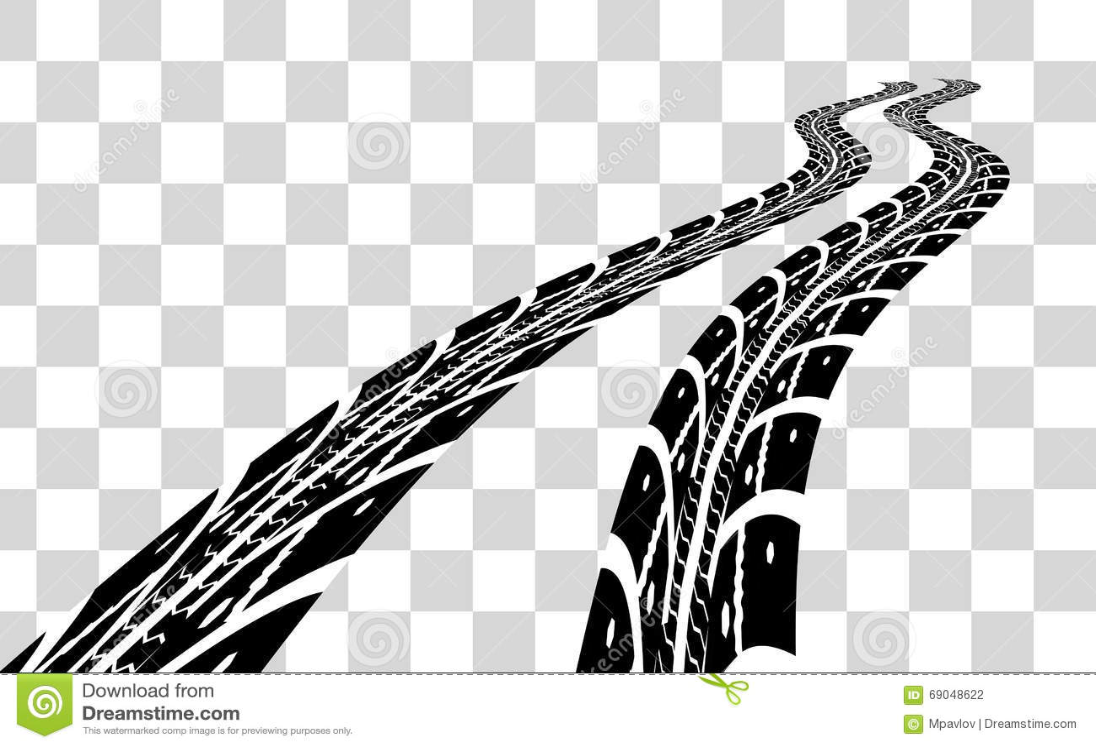 Tire Tracks Transparent Stock Illustrations 49 Tire Tracks Transparent Stock Illustrations Vectors Clipart Dreamstime