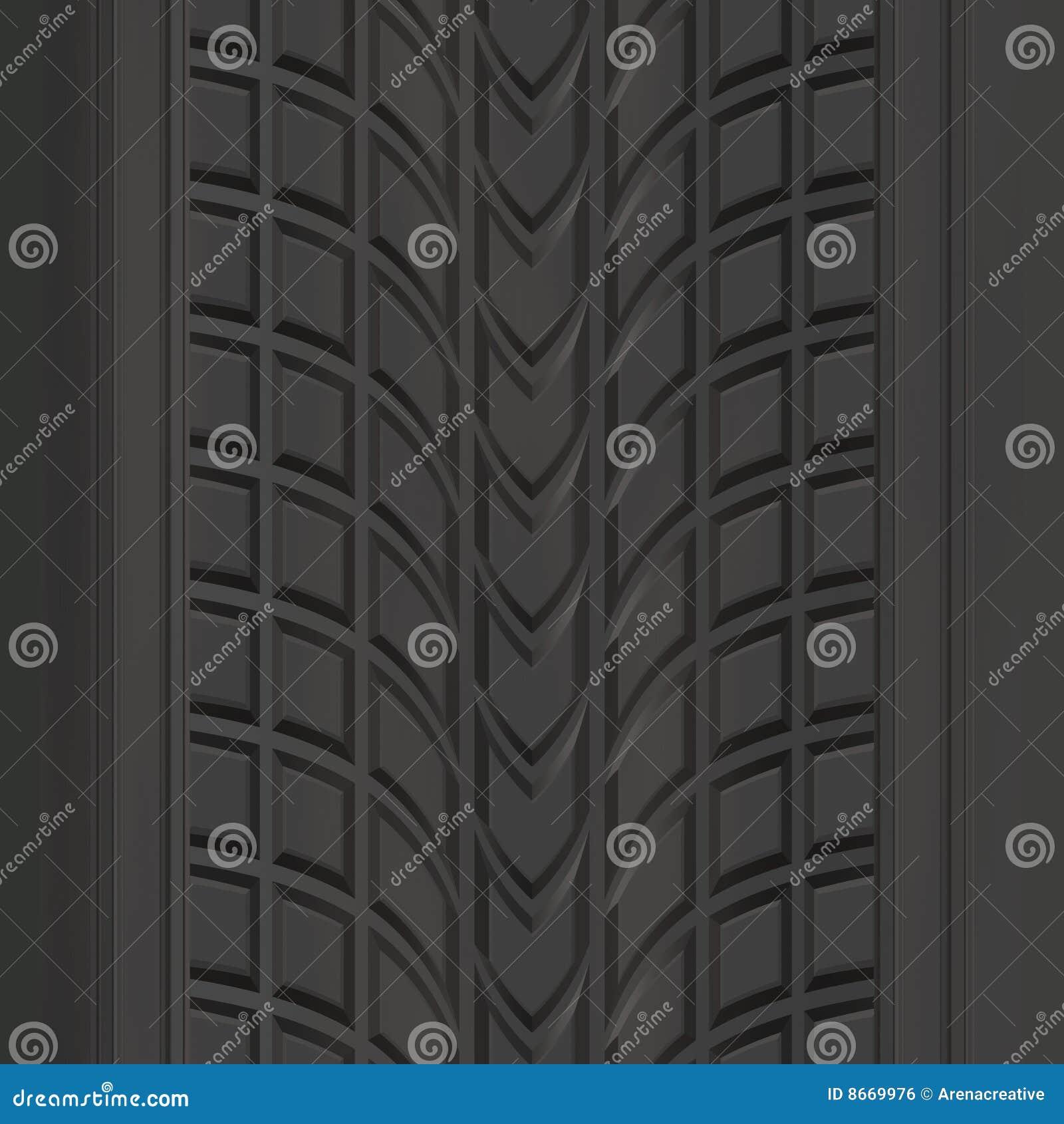 Tire Tread Pattern stock illustration. Image of ...