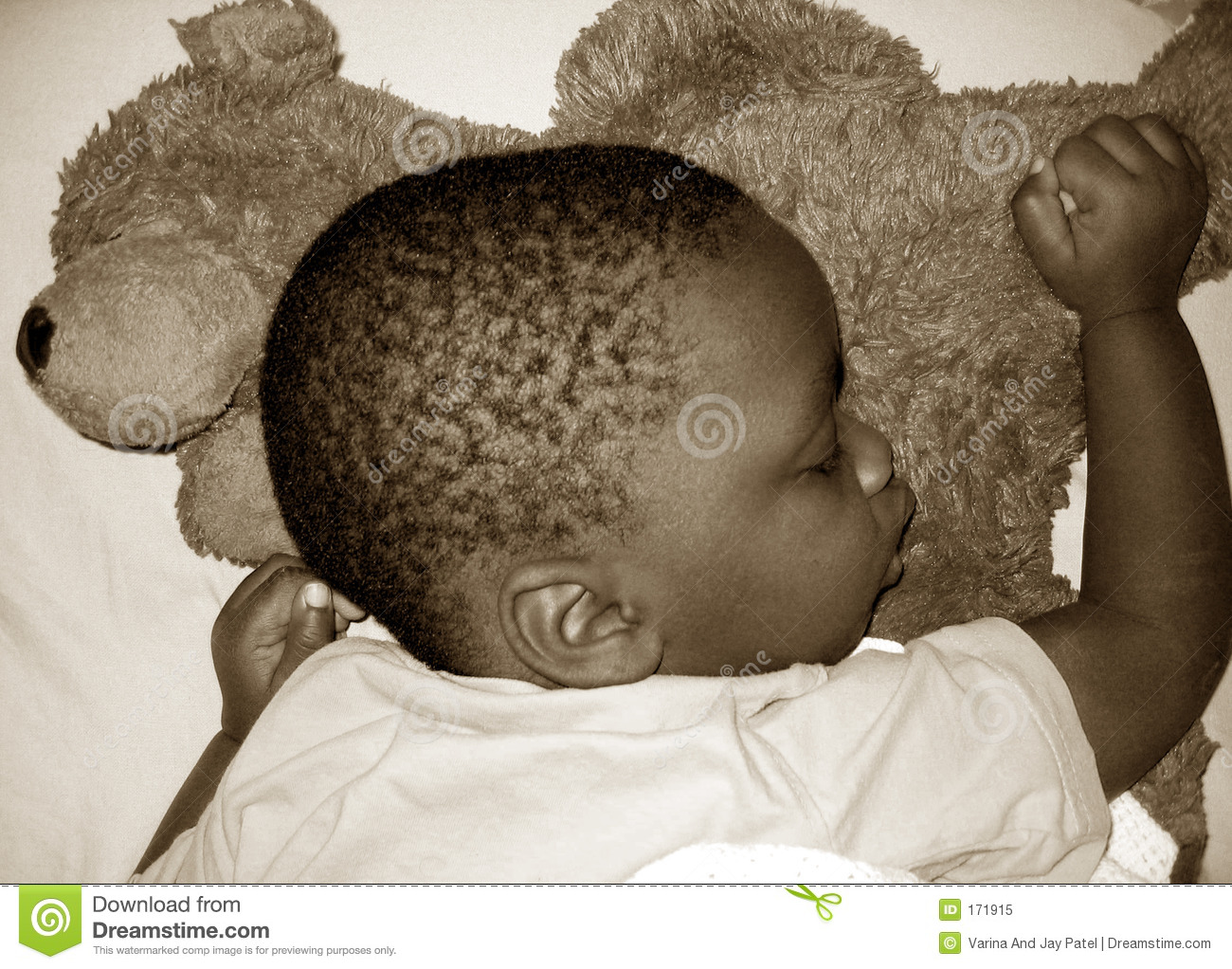 Tired Baby Royalty Free Stock Photo - Image: 171915