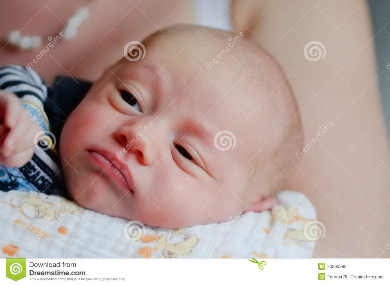 Tired Baby Stock Photography Image 20260992
