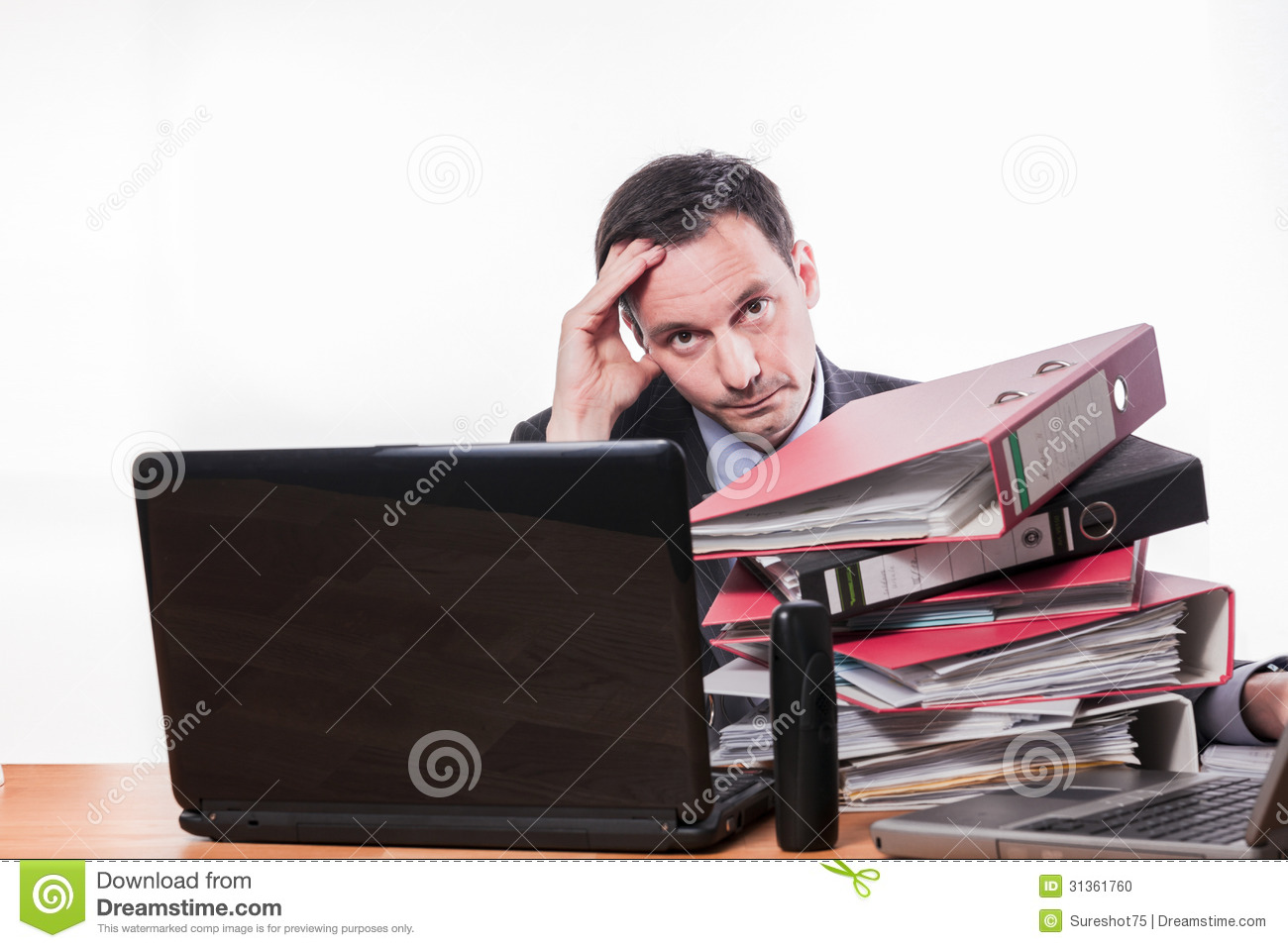 tired and exhausted employee too much work stock photo image tired and exhausted employee too much work