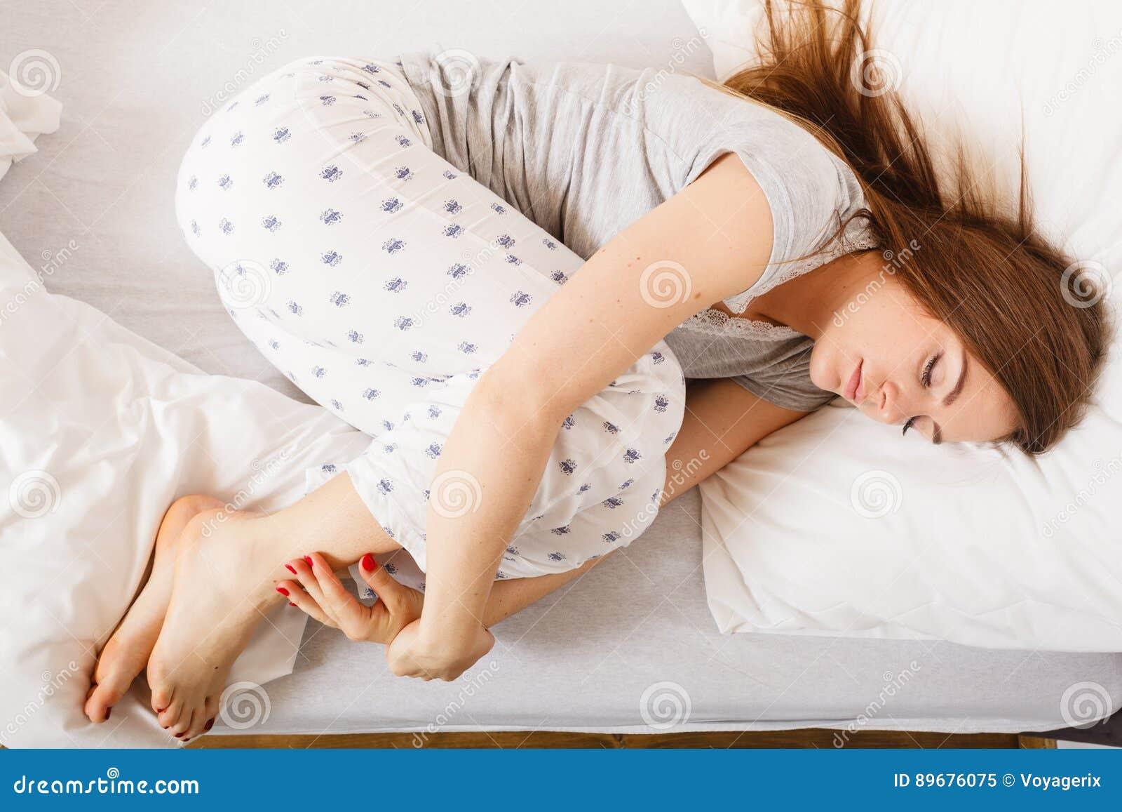 Tired Girl Sleeping Royalty Free Stock Photo