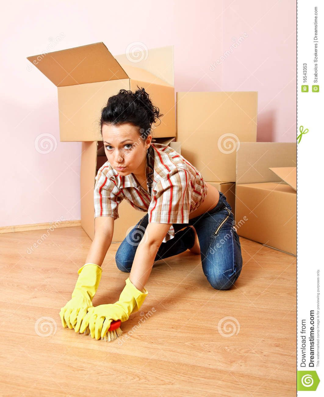 Tired Housewife Stock Photos - Image: 16543353