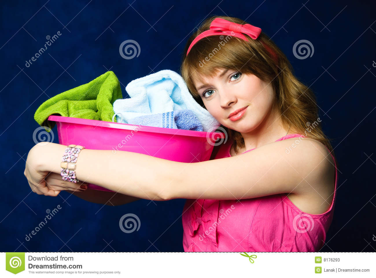 Tired Housewife Stock Photos - Image: 8176293