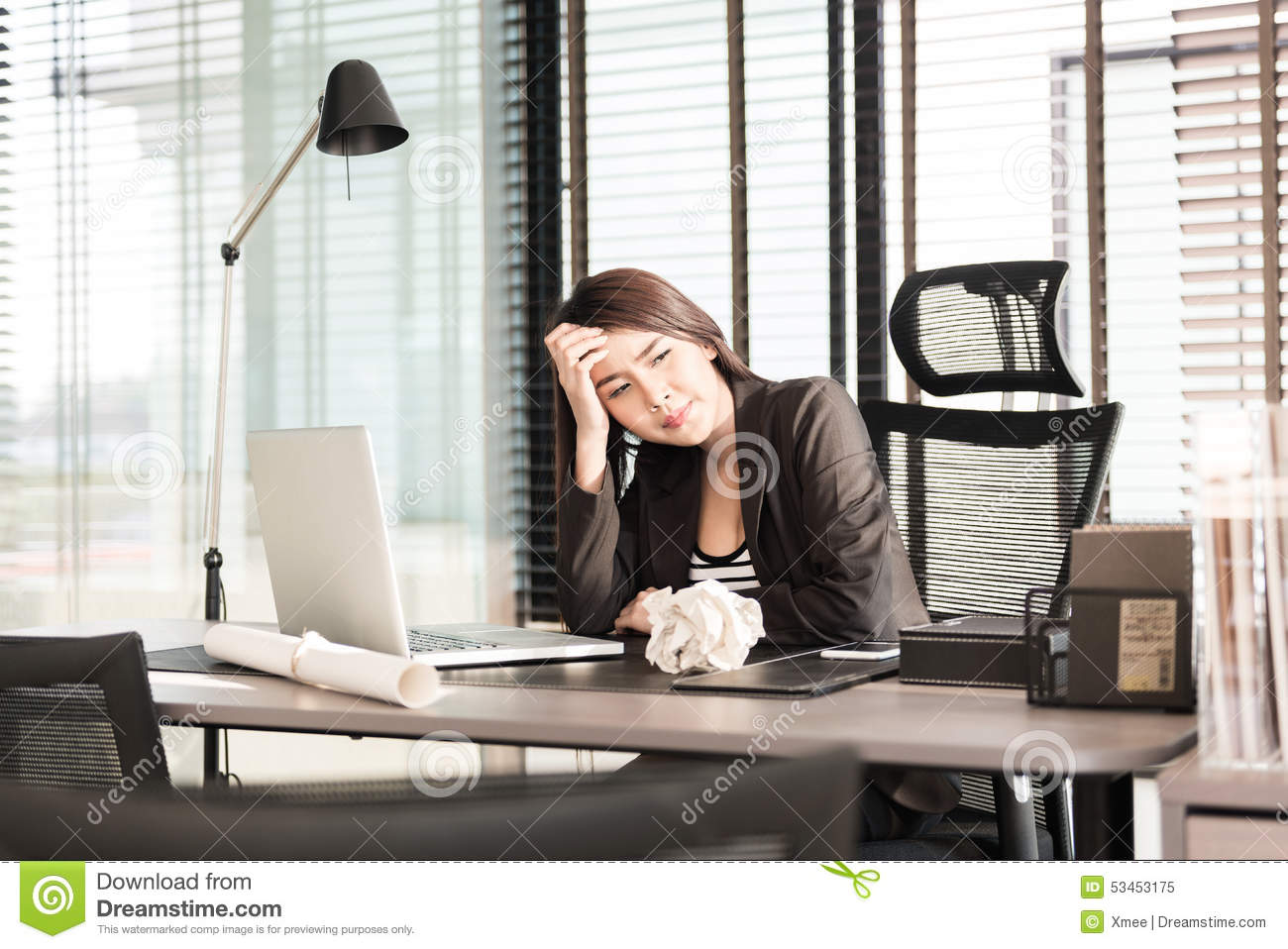 woman office furniture. Tired And Sleepy Young Business Woman At Office Desk Stock Image - Of Pretty, Beautiful: 53453175 Furniture E