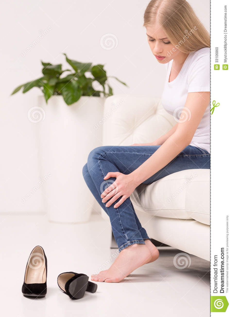Tired Woman. Stock Photo - Image: 33106860