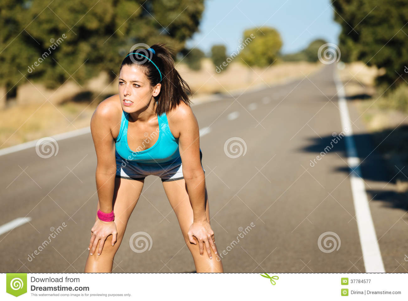 Thought differently, sexy hot runner girl running really
