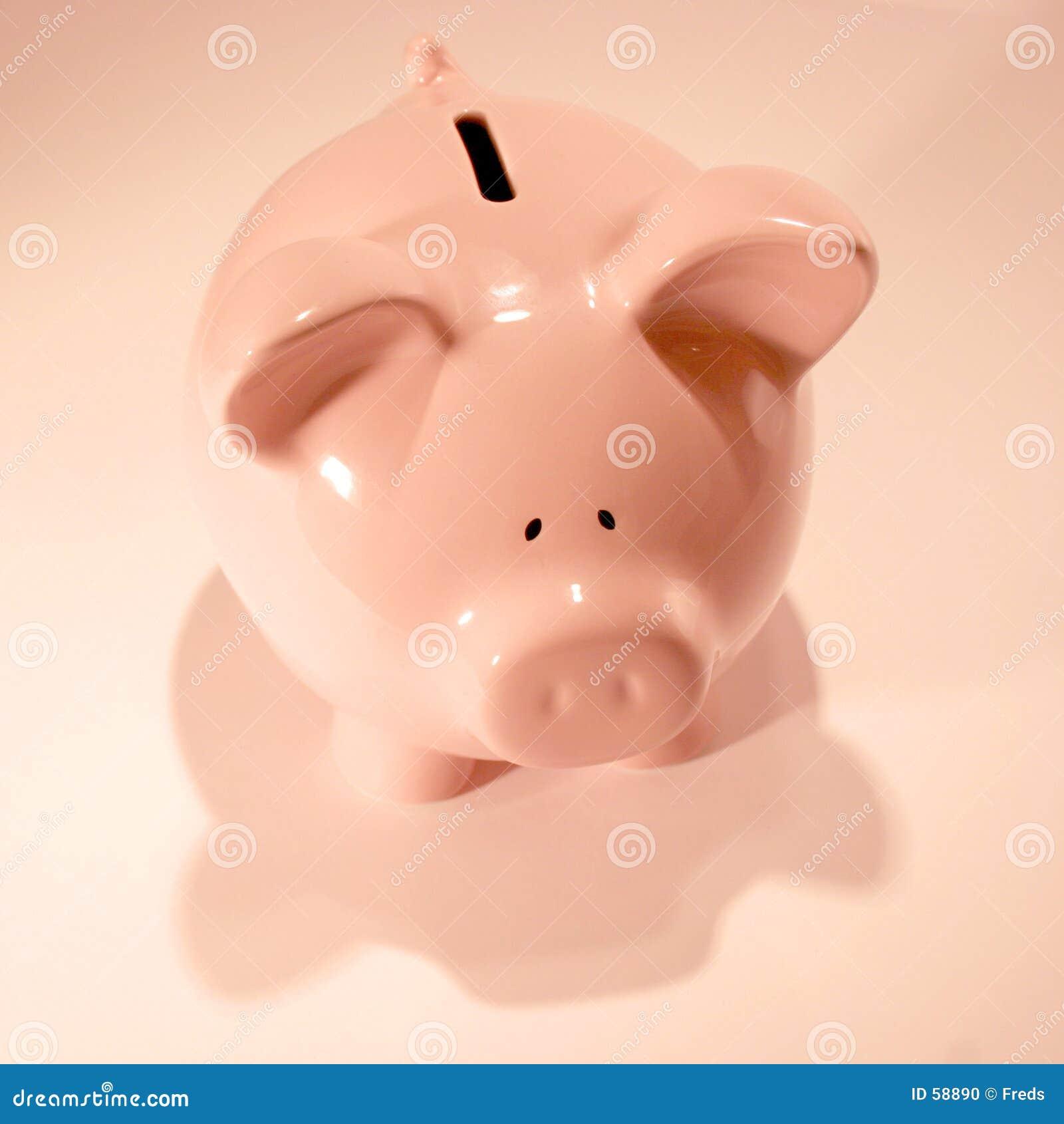 Download Tirelire photo stock. Image du affaires, porcin, investissez - 58890