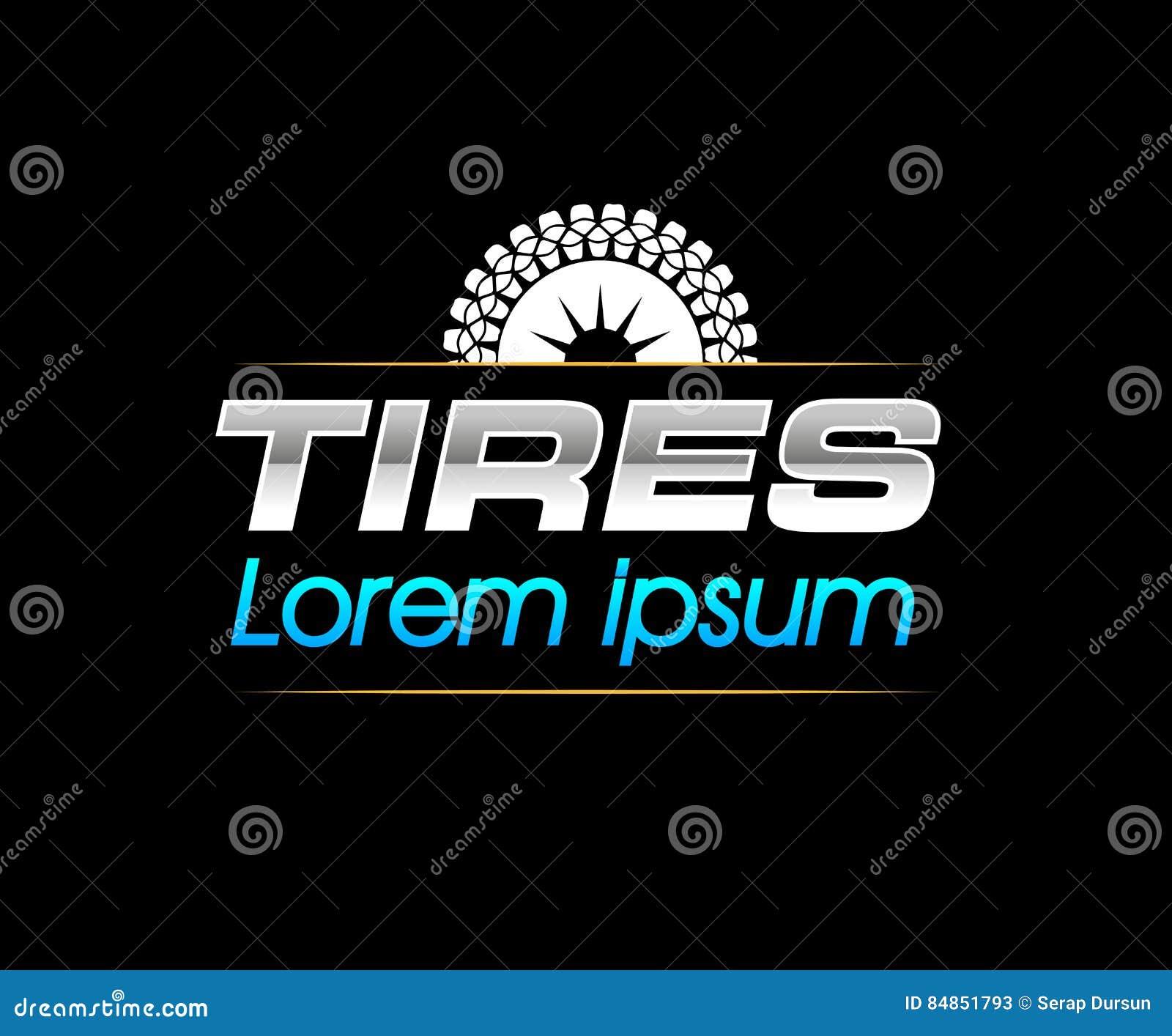 Maybach Symbol >> Tires Logo Design Cartoon Vector | CartoonDealer.com #84851793