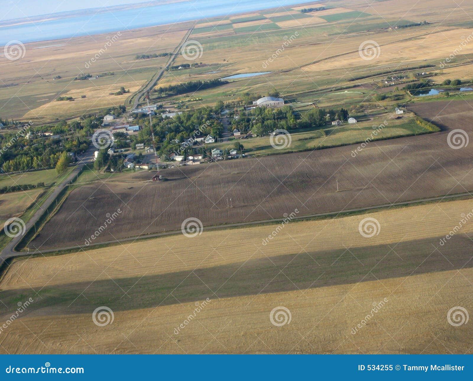 Tiro aéreo de Saskatchewan