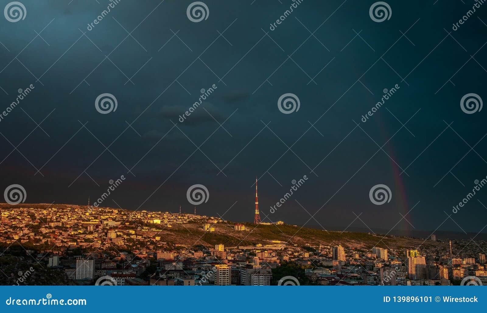 Tiro do zangão de Yerevan