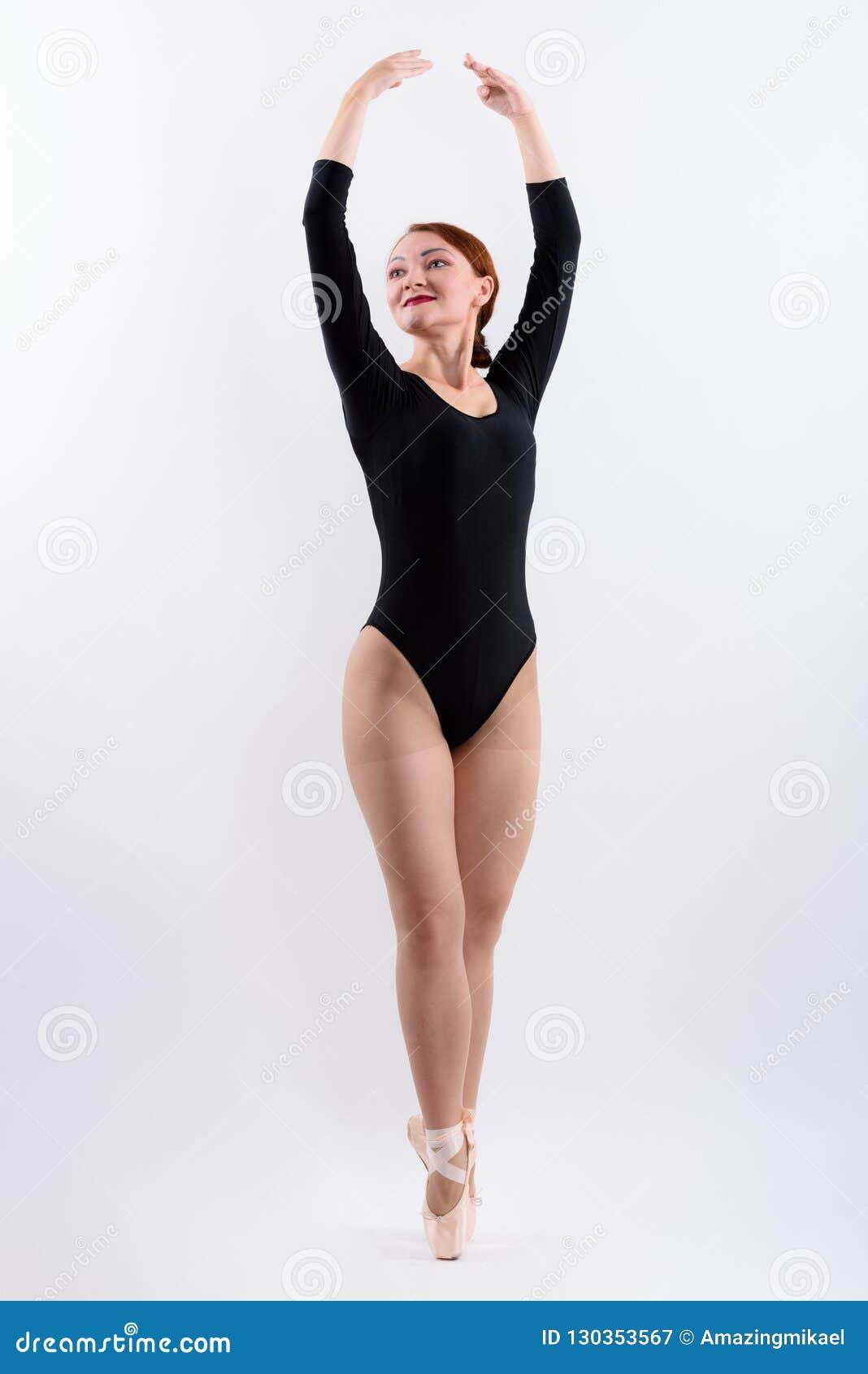 Bailarín Tiro Ballet Cuerpo Del De Que Anda La Mujer Lleno nw8XPkN0O