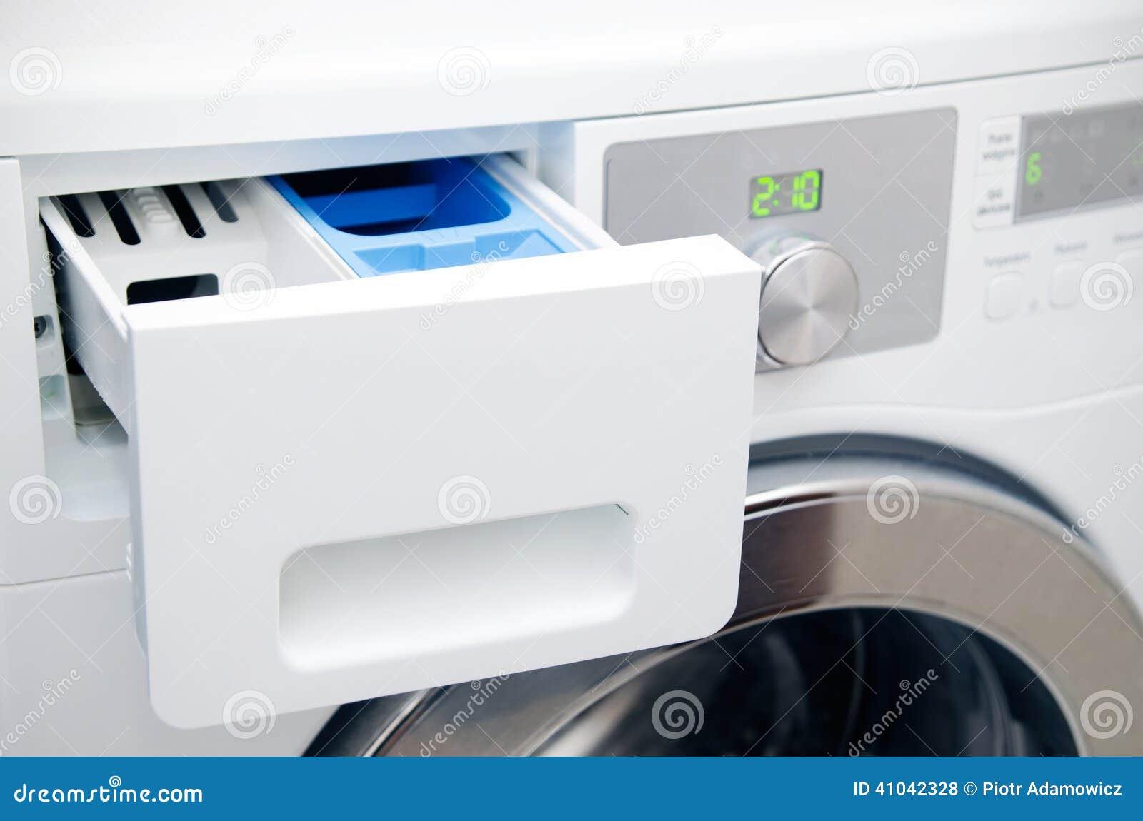tiroir moderne de machine laver photo stock image 41042328. Black Bedroom Furniture Sets. Home Design Ideas