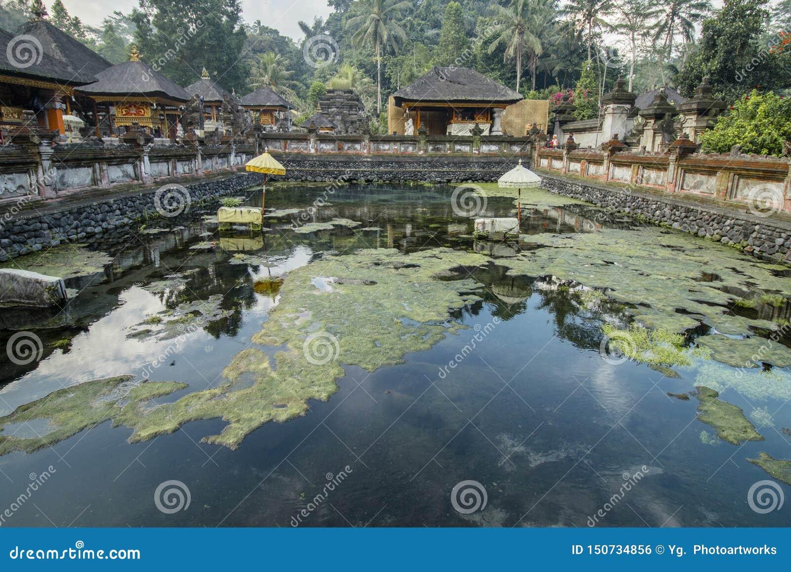 Tirta Empul tempel, en hinduisk Balinesevattentempel