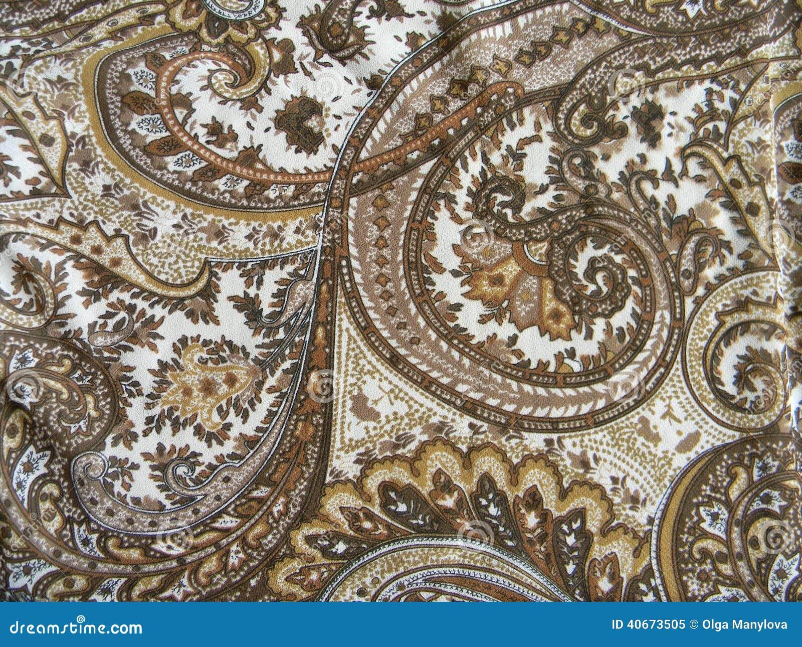 tissu avec le dessin est classique image stock image 40673505. Black Bedroom Furniture Sets. Home Design Ideas