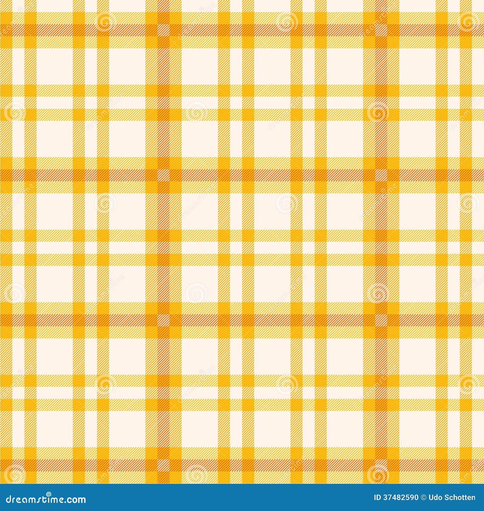Tissu avec le modèle orange