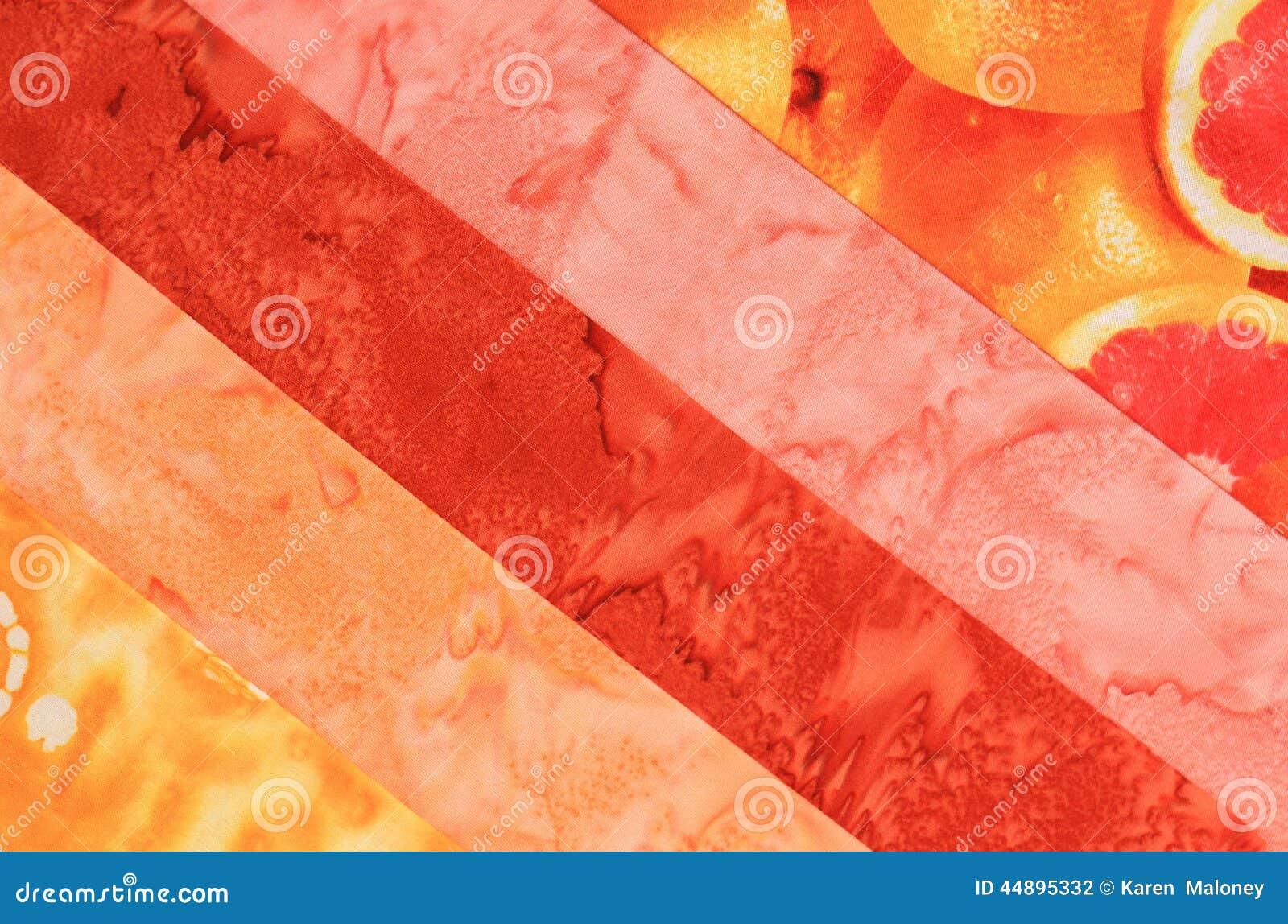 tissu bande rose et orange photo stock image du blocs 44895332. Black Bedroom Furniture Sets. Home Design Ideas