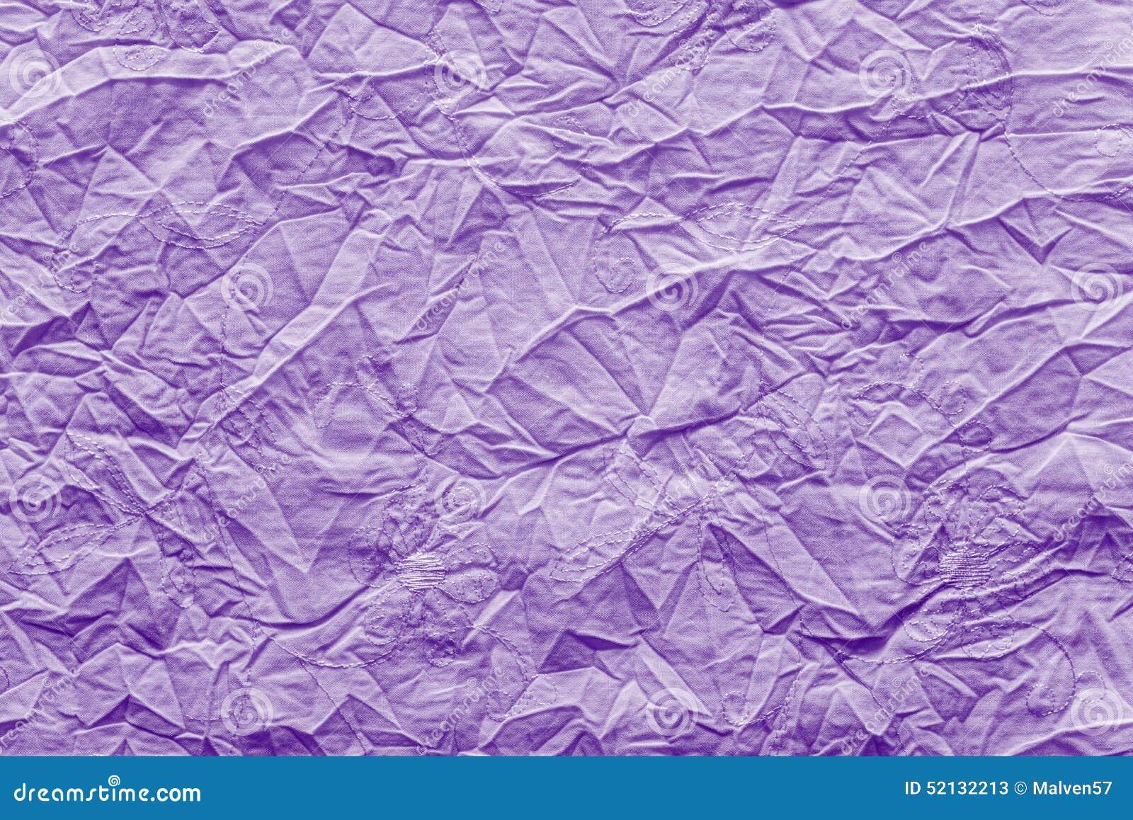 tissu chiffonn de texture de couleur lilas lumineuse photo stock image 52132213. Black Bedroom Furniture Sets. Home Design Ideas
