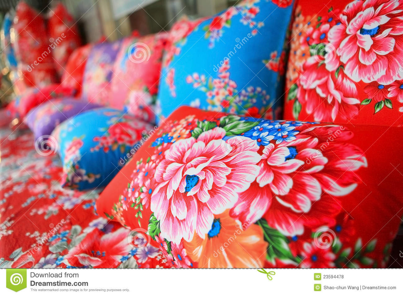 tissu de chinois traditionnel avec le type de fleur photo stock image du cr ateur details. Black Bedroom Furniture Sets. Home Design Ideas