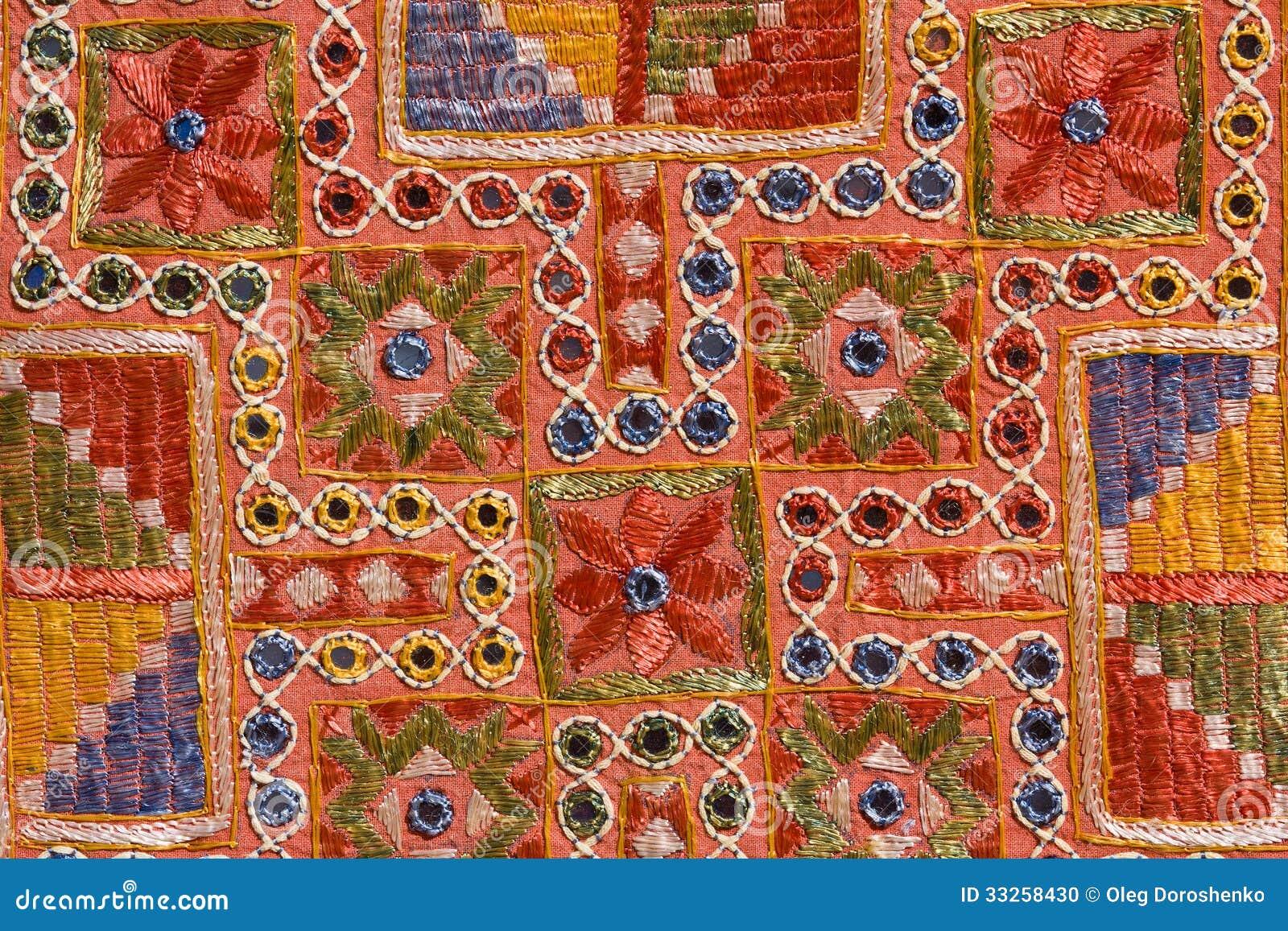 tissu de mur indien de patchwork de rajasthani photo stock. Black Bedroom Furniture Sets. Home Design Ideas