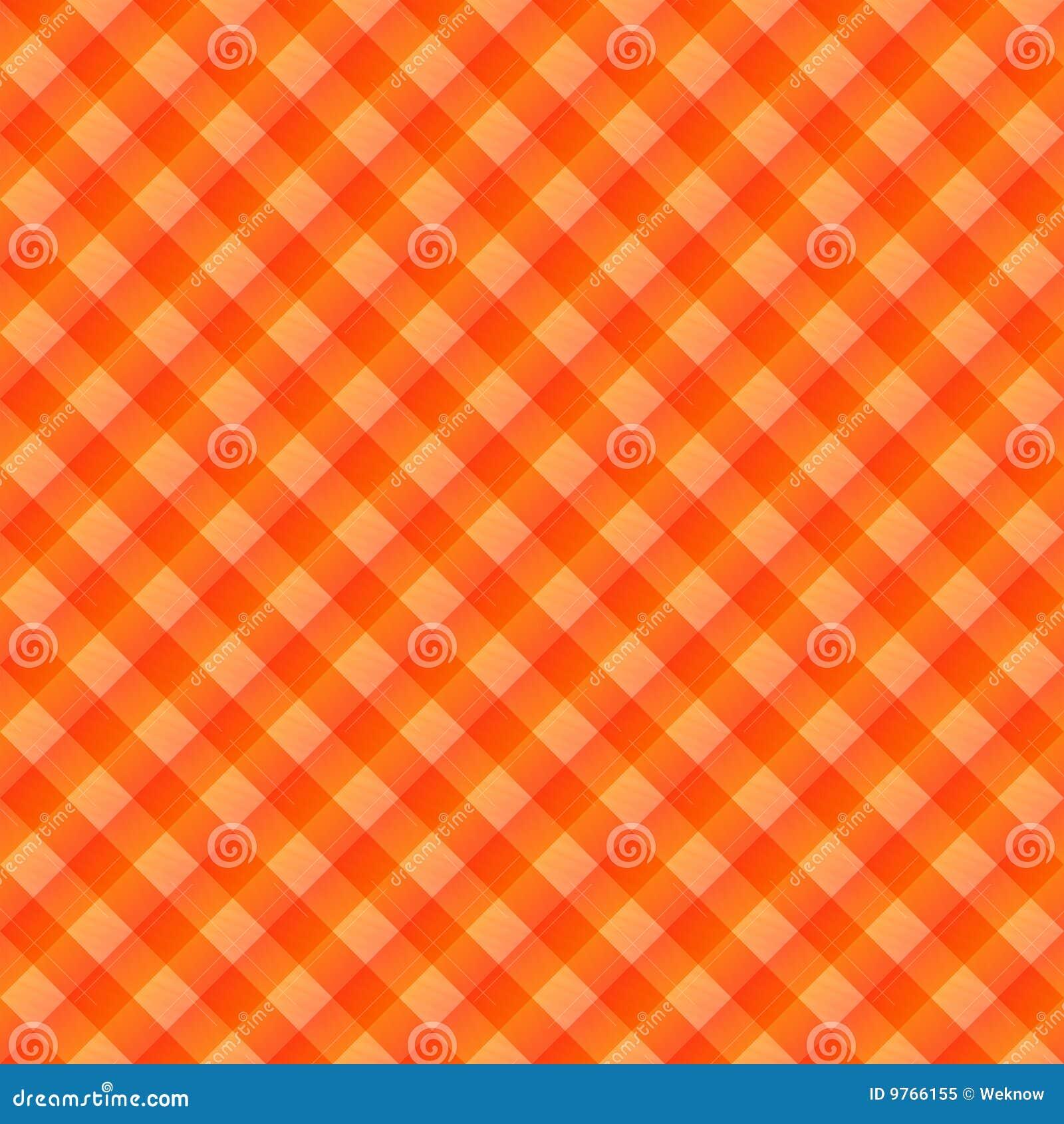 Tissu de table orange