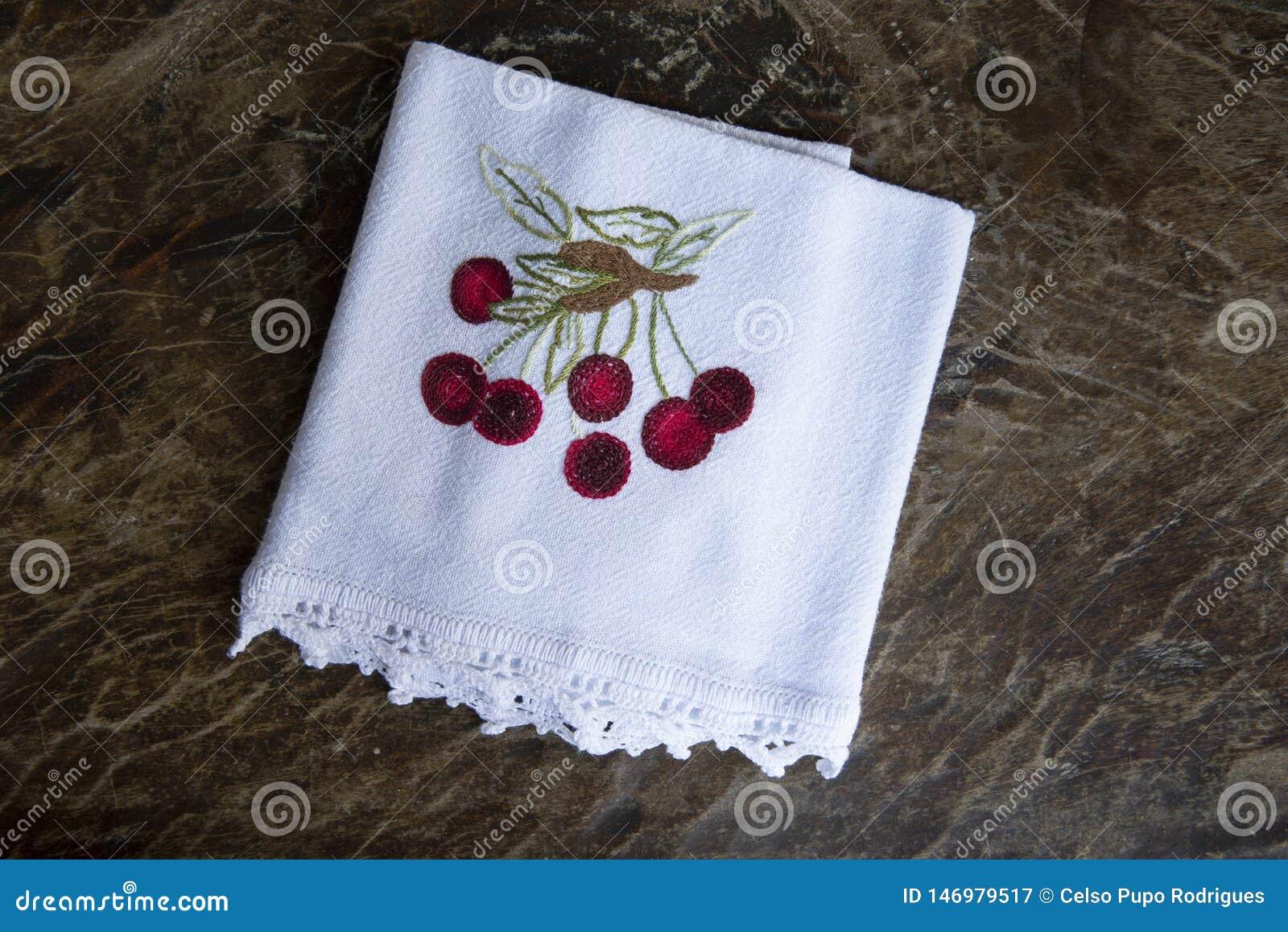Tissu fait main de plat