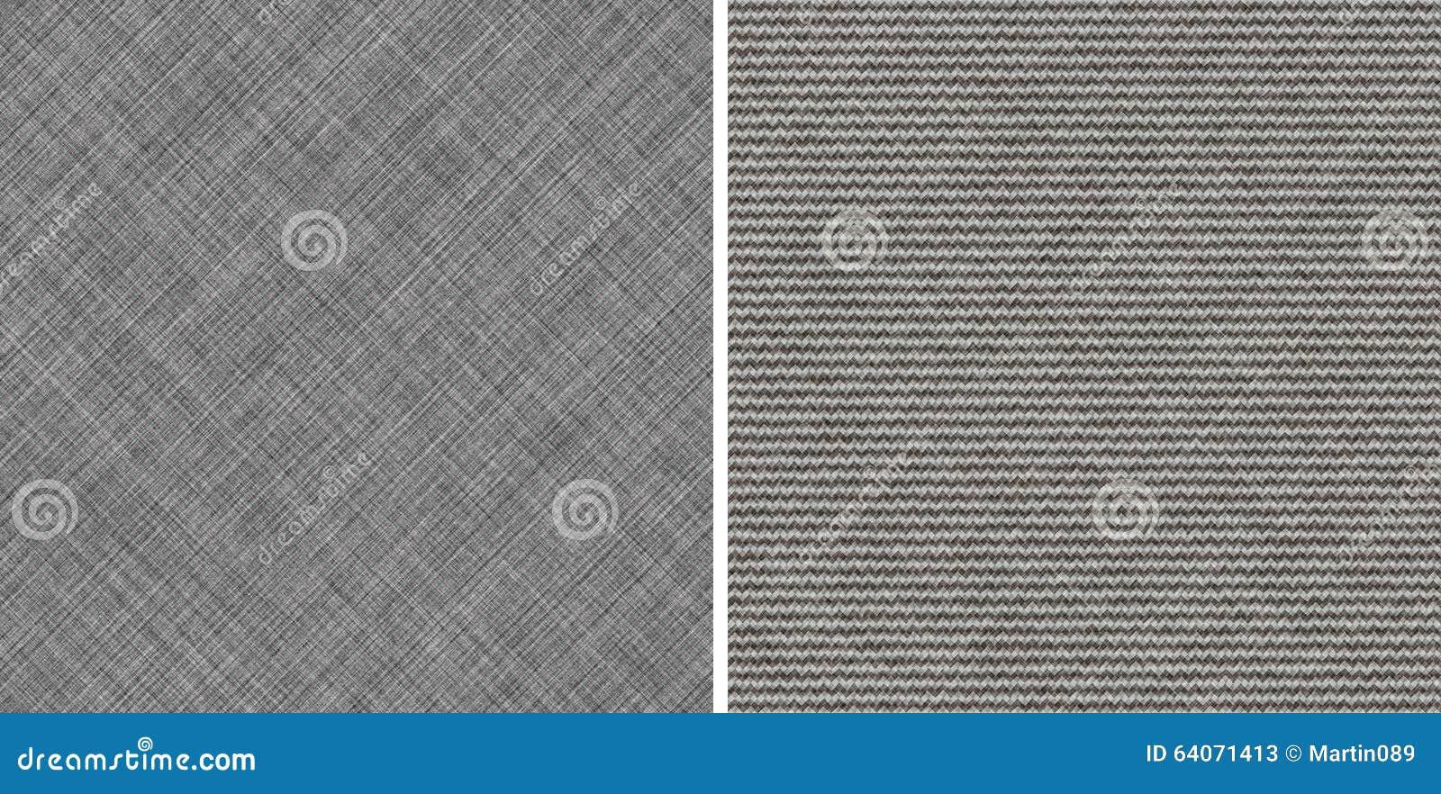 Tissu gris élégant sans couture