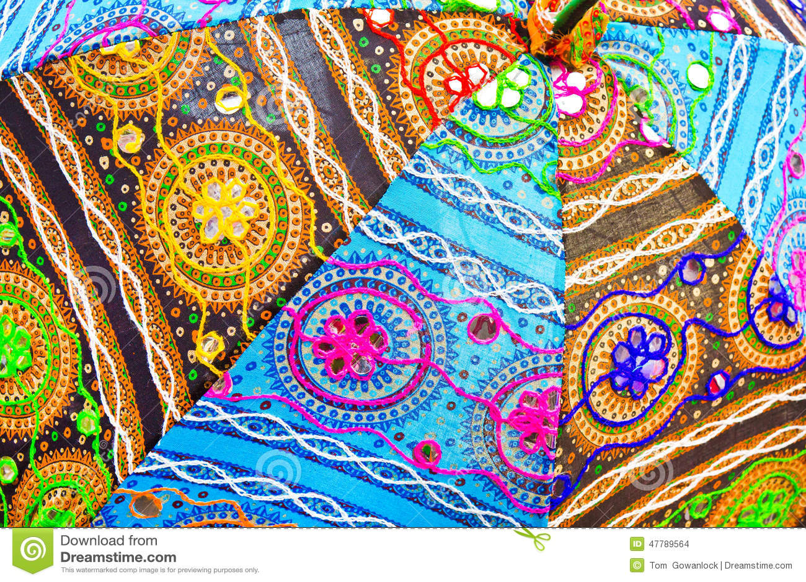 tissu indien photo stock image 47789564. Black Bedroom Furniture Sets. Home Design Ideas