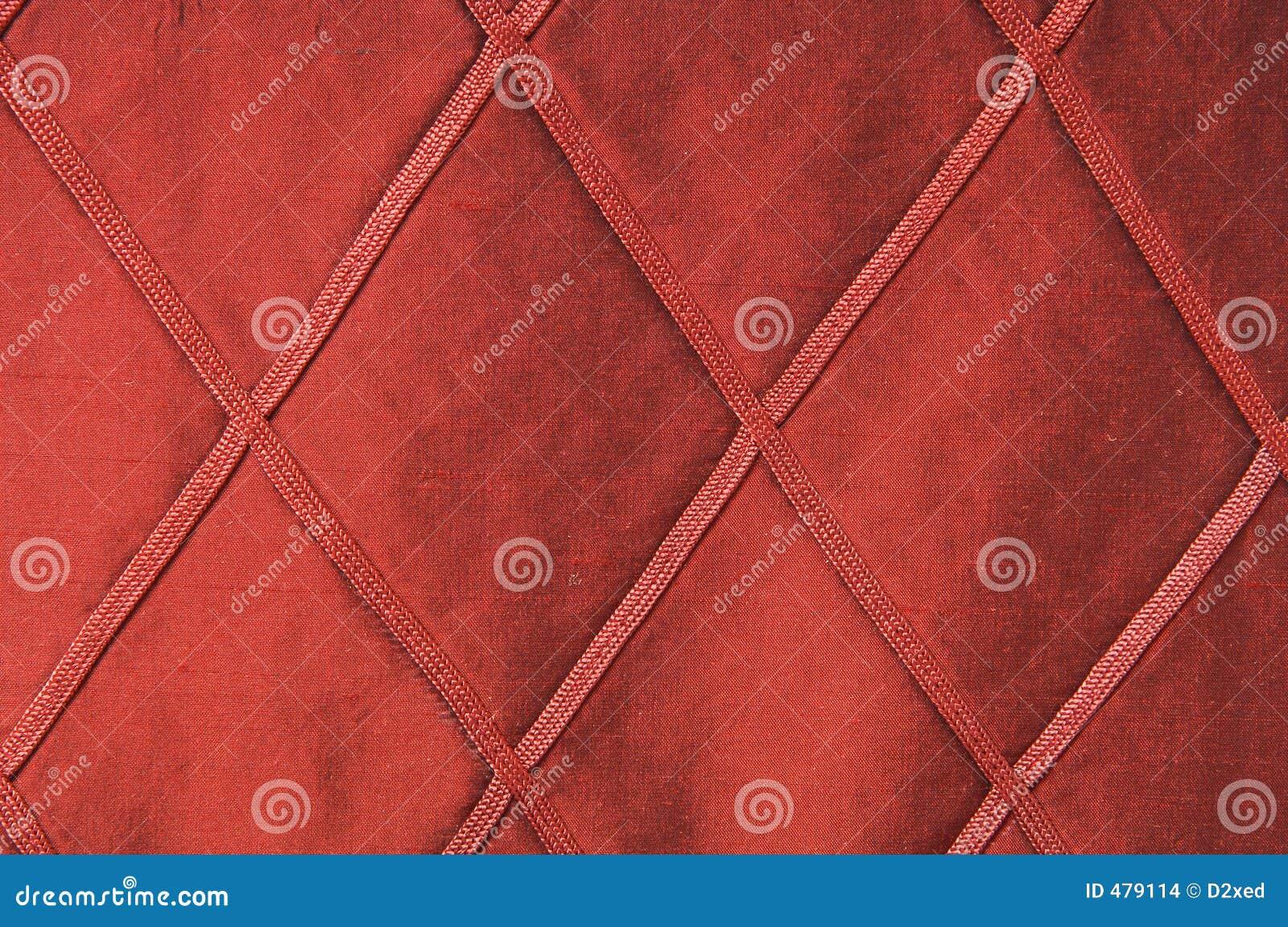 Tissu rouge luxueux comme fond