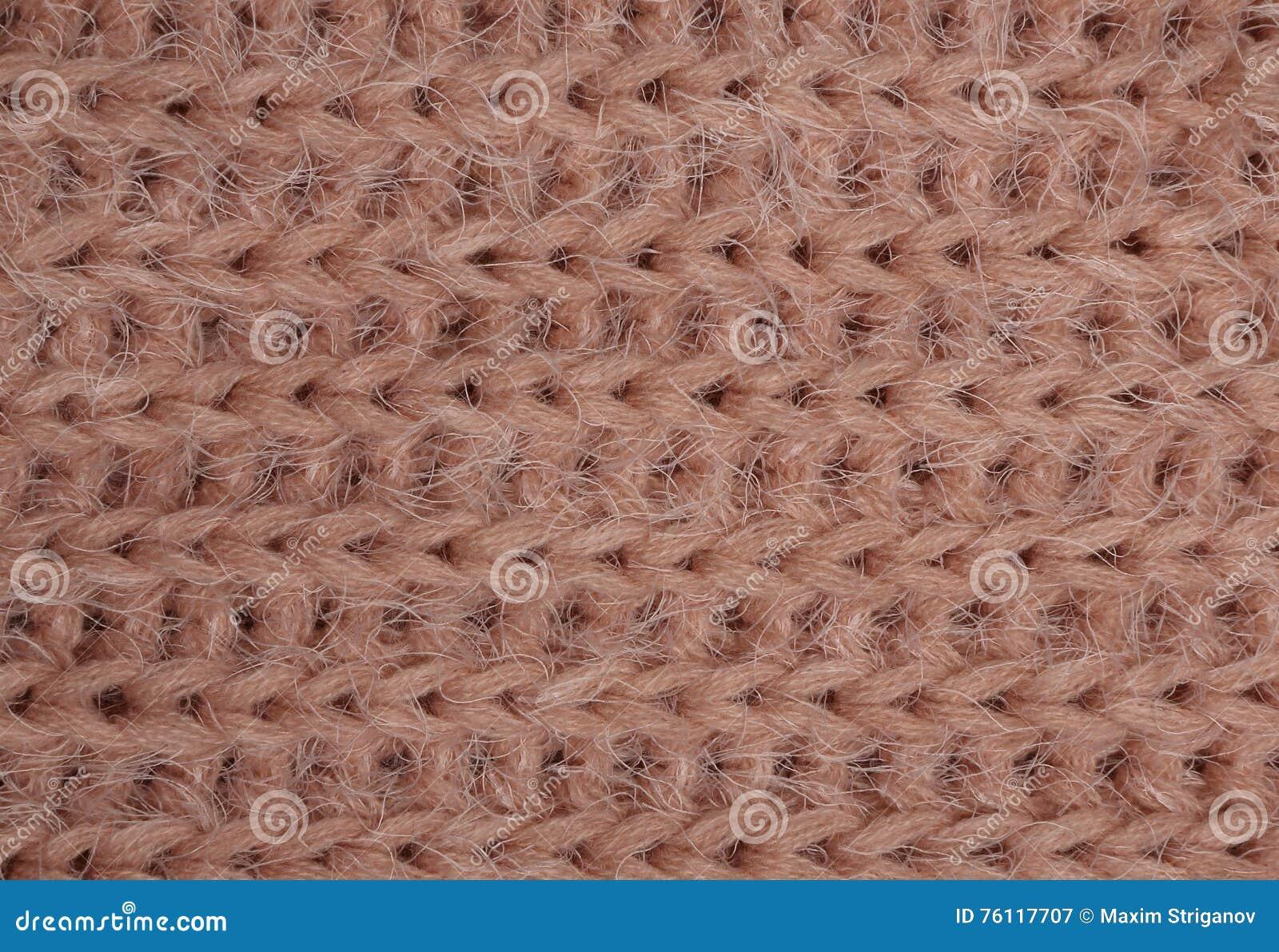Tissu tricoté par corail