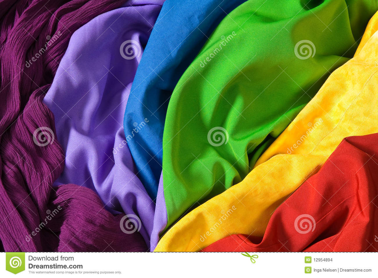 Tissus color s images stock image 12954894 - Tissus bohemes colores ...